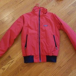 Red Patagonia Men's Baggies Jacket